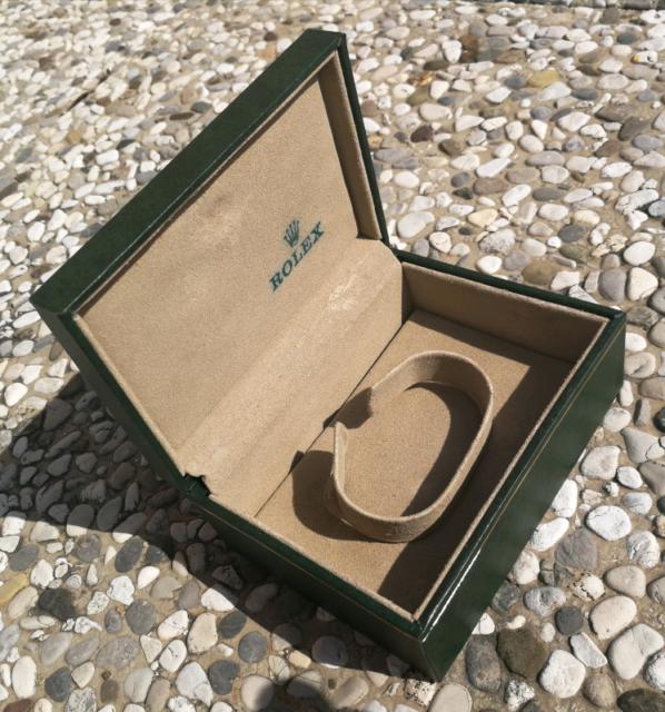 Rolex scatola e controscatola ref.