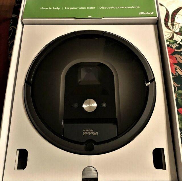 Aspirapolvere iRobot Roomba 980, Wifi.