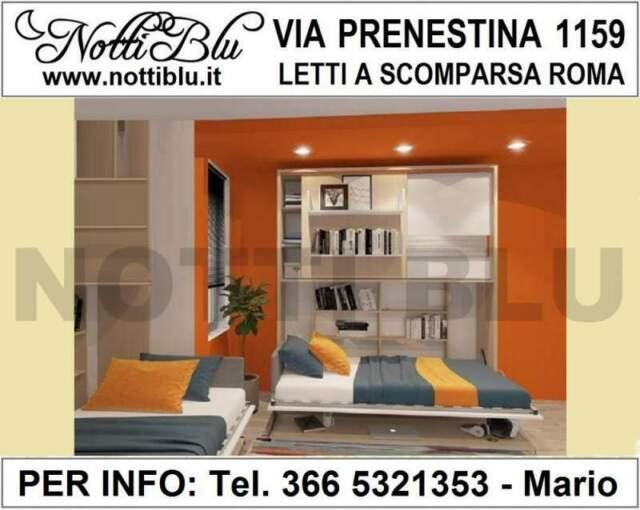 Letti a Scomparsa Roma _ Letto 1 piazza e1/2 Notti Blu VE505