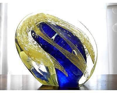 Scultura in vetro di Murano del maestro Sergio Rossi