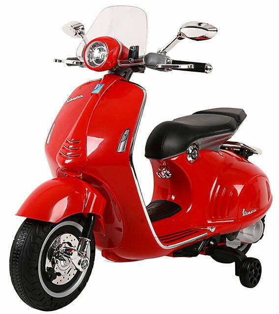 Piaggio Vespa 946 Elettrica 12v Per Bambini Rossa