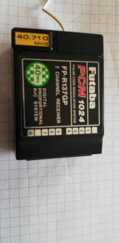 RIcevente FUTABA FP-R137GP - 40 MHz - PCM