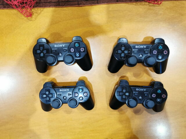 Lotto 4 controller Sony Playstation 3 PERFETTAMENTE