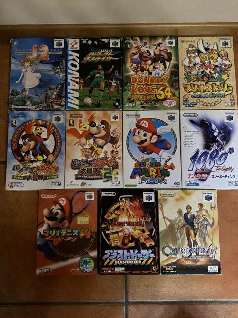 Lotto giochi x console Nintendo 64 JAPAN Mario banjo