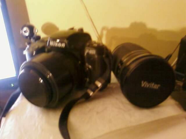Macchina Fotografica Nikon F601 AF e ob Sigma Omaggio