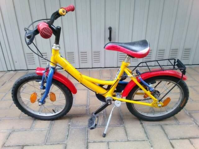 Bicicletta per bambini 4/5 anni con ruote da 16