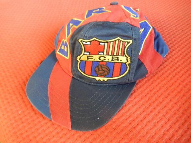 Cappellino con visiera Futbol Club Barcelona vintage anni 90