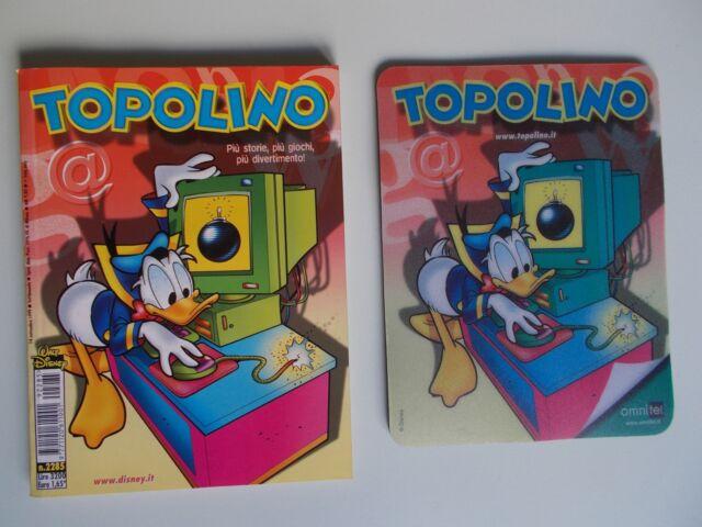 DISNEY Tappetino per mouse di Topolino Walt Disney originale