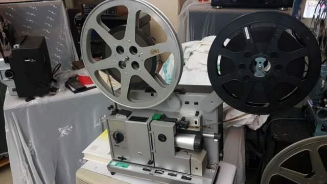 Proiettore 16mm bauer p7 ts sonoro perfettamente funzionate
