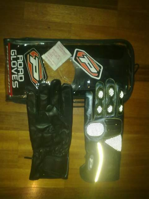 Guanti Progrip in pelle per moto o scooter