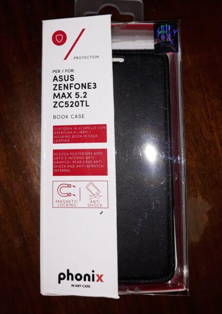 Custodia a libro in pelle per Zenphone 4