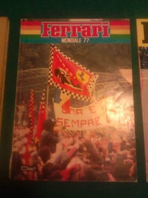 Enzo Ferrari '' Ferrari mondiale 77 ''