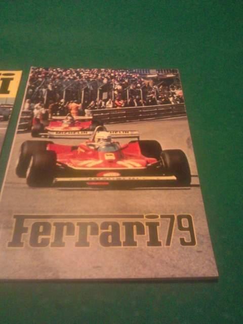 Enzo Ferrari '' Ferrari mondiale 79 ''