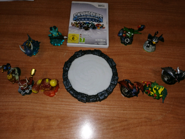 Nintendo Wii SKYLANDERS Gioco+ piattaforma