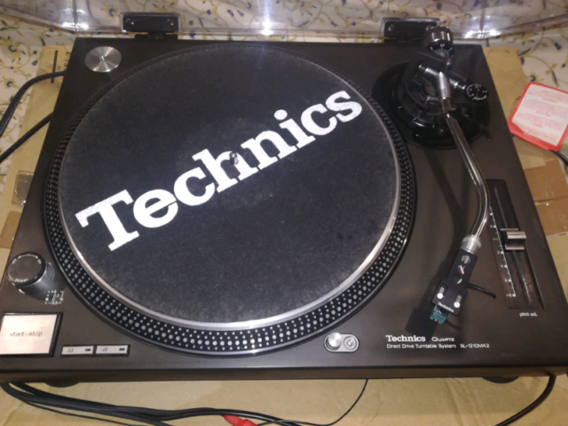 Technics sl  mk2 con shell e Stanton 500mkii