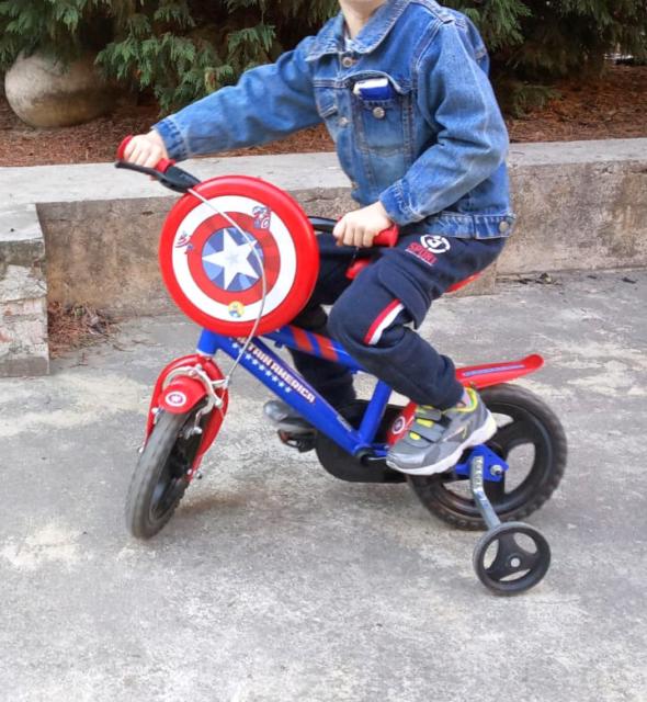 Biciclino per bimbo da 2 anni in +