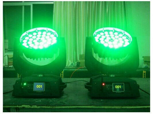 Teste Mobili Wash/Zoom LED w RGBWA + UV