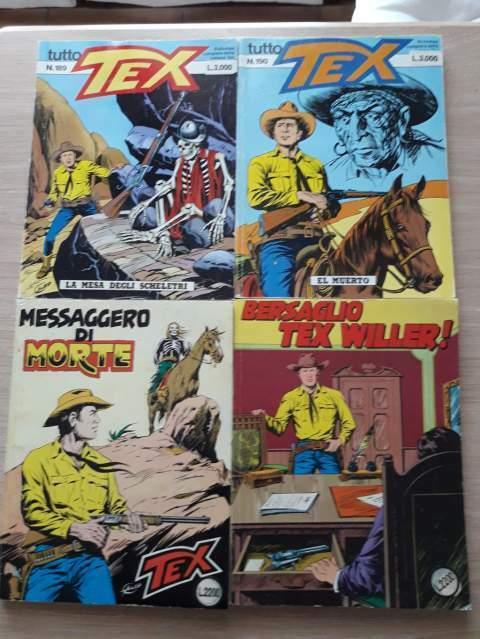 Tex, Paperino, Braccio di ferro