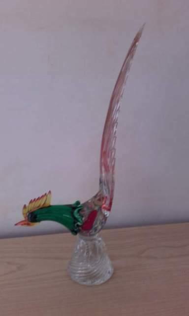 Gallo vetro Murano anni 60
