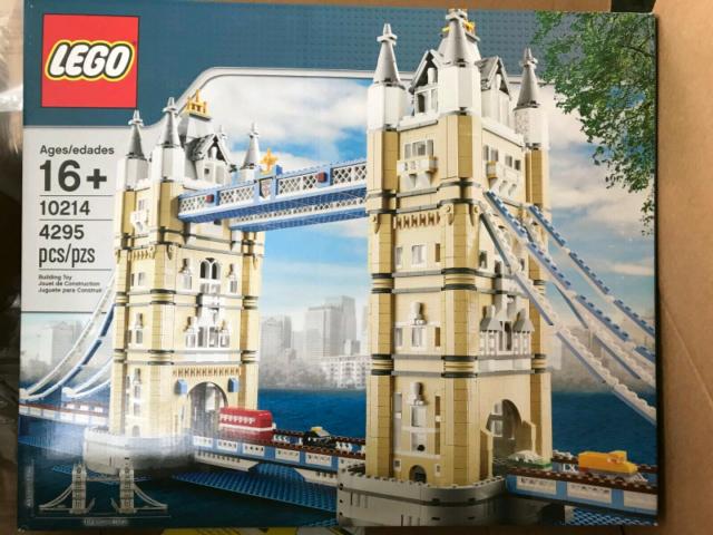 Lego Collezionisti  London Tower Bridge Nuovo