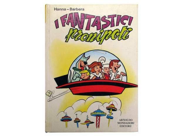 """Libro """"I fantastici pronipoti"""" di Hanna-Barbera"""