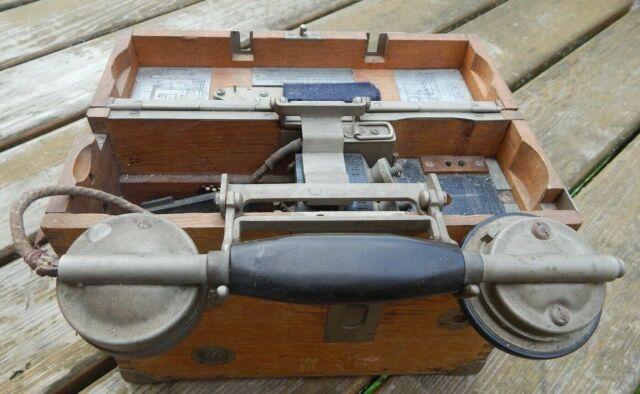 Telefono da campo tedesco WW1/WW2