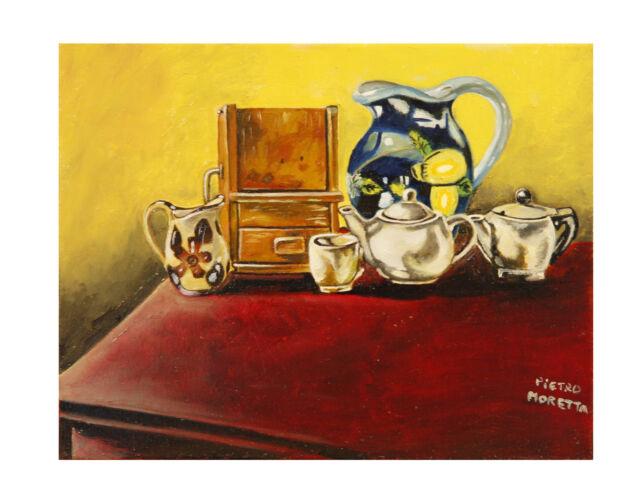 Vendo Opere d'arte, dipinti a olio su tela disegni matita