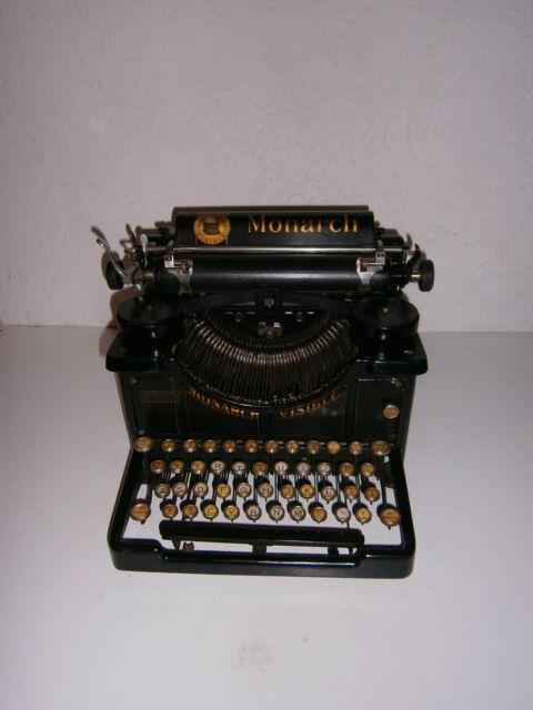Macchina da scrivere da tavolo Monarch