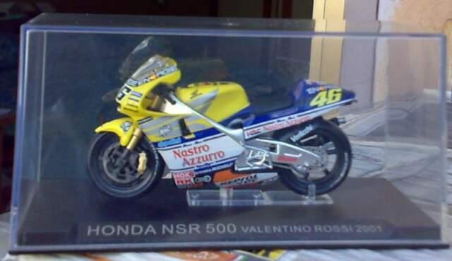 Modellino moto Honda NSR 500 Valentino Rossi