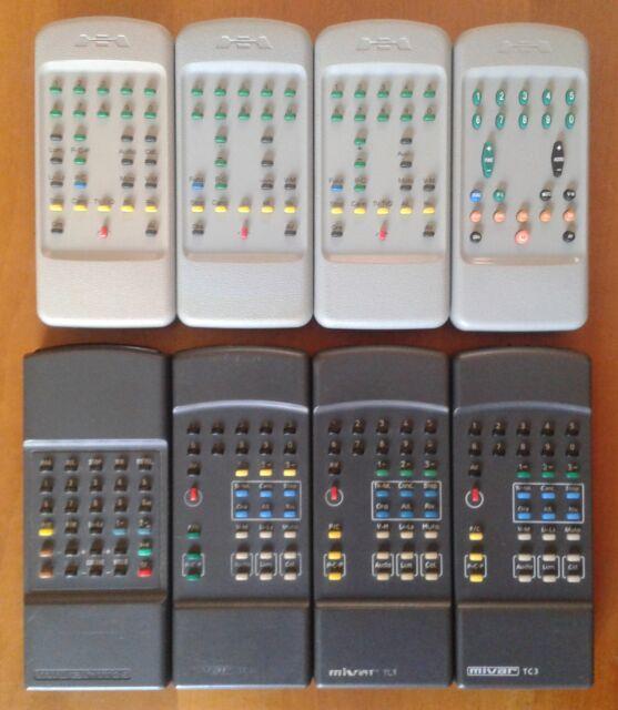 Telecomandi originali per Tv Mivar