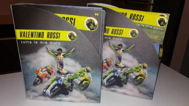 """Valentino Rossi """"tutte le mie moto"""""""