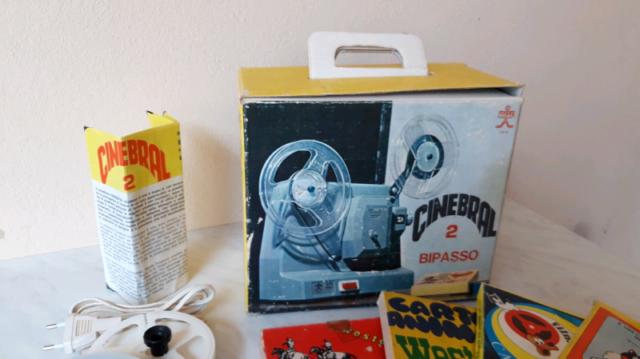 Proiettore giocattolo Cinebral 2