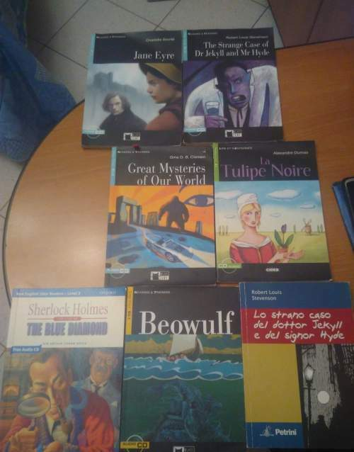 Libri in lingua x testi scolastici vari
