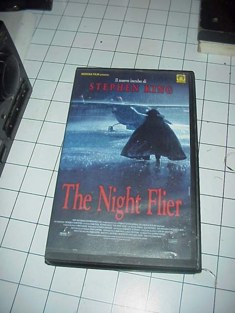 The Night Flyer horror vhs videocassetta film raro originale