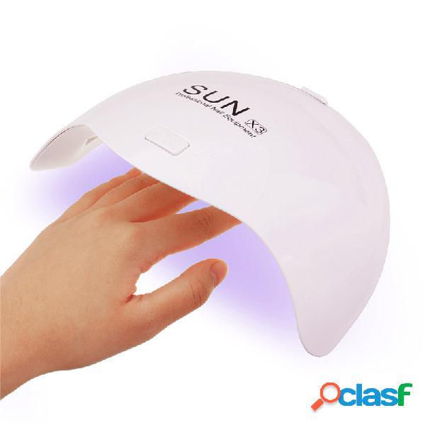 9W Mini White Nail UV Lampada a LED che cura tutti i tipi di