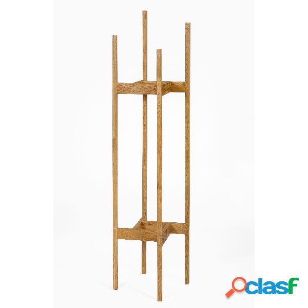 Appendiabiti Hilbert in legno massiccio, dimensioni 43 x 43