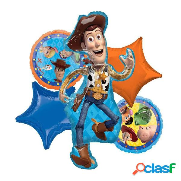 BOUQUET N.2 TOY STORY CON SUPERSHAPE WOODY