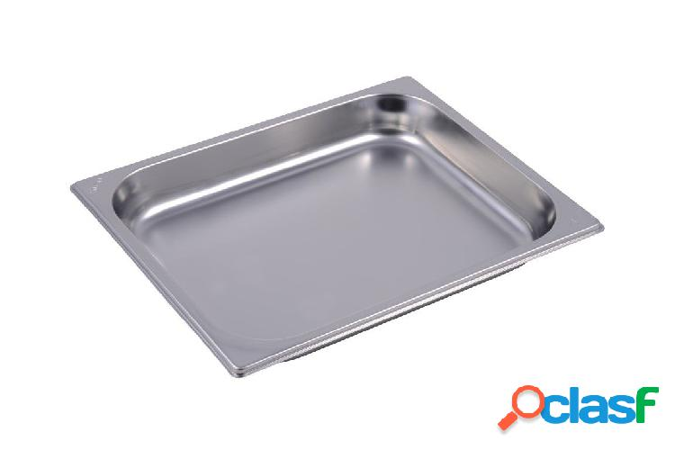 Bacinella in acciaio inox GN 1/2 H 40 mm - capacità 21,3