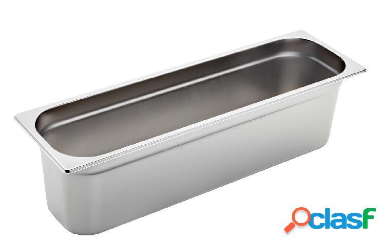 Bacinella in acciaio inox GN 2/4 H 150 mm - capacità 9,1