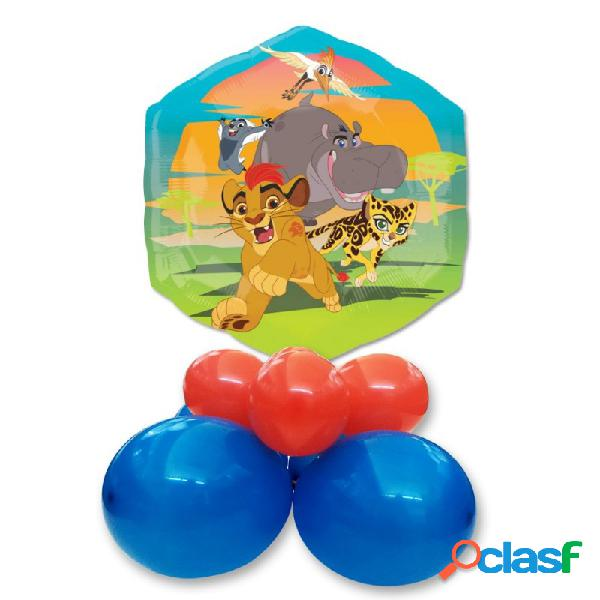CENTROTAVOLA PALLONCINI RE LEONE THE LION GUARD SUPERSHAPE