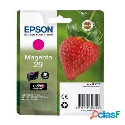 Cartuccia Epson C13T29834010 T29 Fragola originale MAGENTA