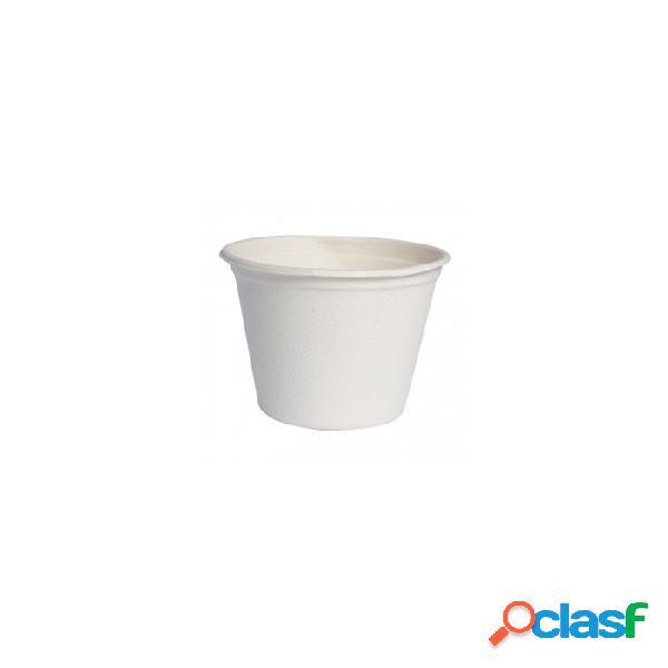 Coppetta Contenitore Monouso Per Soupe Zuppa In Polpa 14 Cl