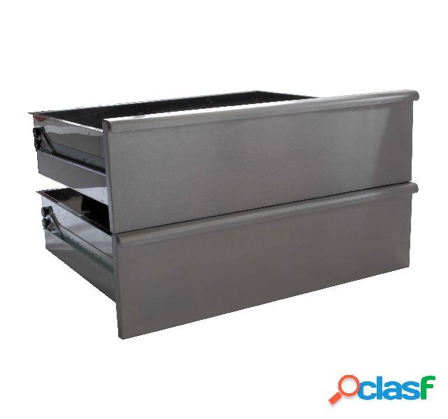 Coppia di cassetti per base e armadio da 70 cm