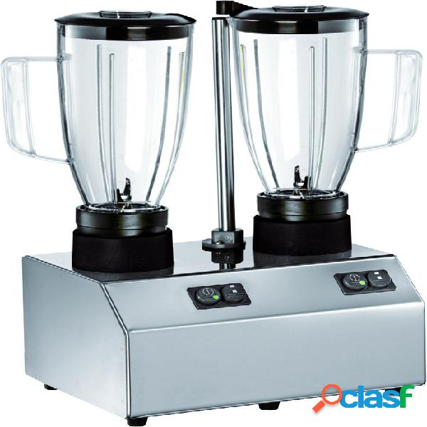 Frullatore 2 bicchieri in policarbonato - potenza 600 + 600