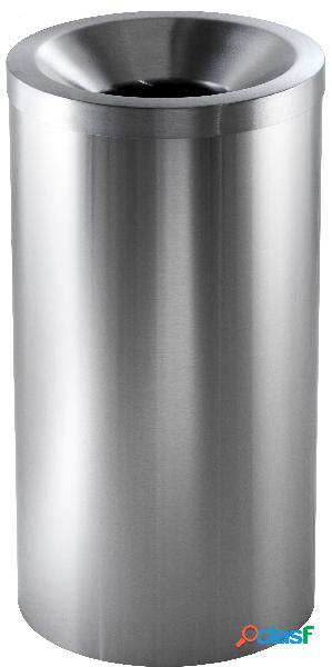 Gettacarte in acciaio inox satinato - capacità 50 LT