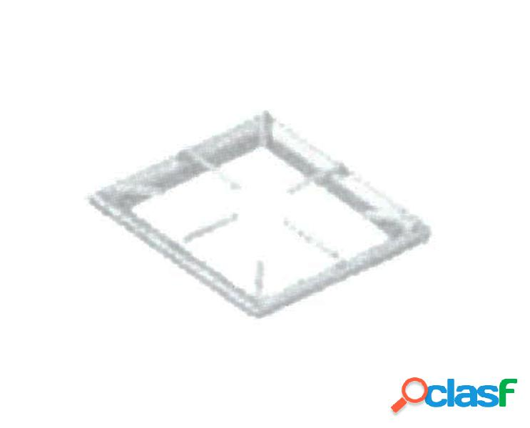 Griglia in acciaio inox 310 mm x 550 mm
