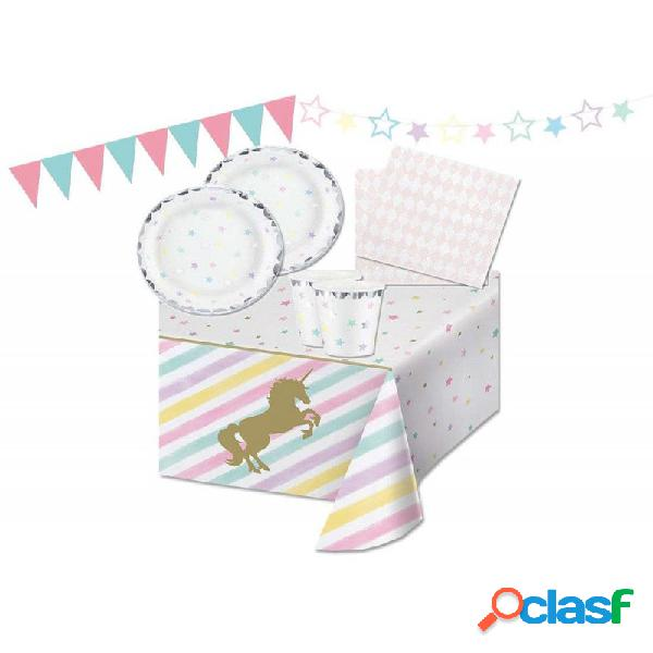 KIT N.17 UNICORN STARS - SET PER FESTA UNICORN