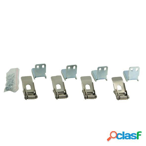 Kit di fissaggio a molla per pannelli a LED indicato per