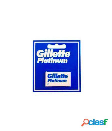 Lame Per Rasoio Platinum 1 Confezione Da 5 Lamette