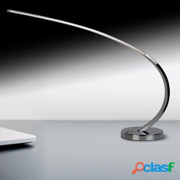 Lampada da Tavola Moderna Flessibile a LED SUPRA in Acciaio